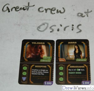Osiris - Great Crew - DrewsViewsDOTinfo - Firefly The Game