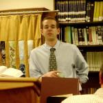 Rabbi Jonathan Kelsen speaking