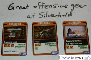 Silverhold - Great Offensive Gear - DrewsViewsDOTinfo - Firefly The Game