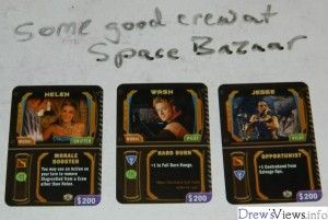 Space Bazaar - Some Good Crew - DrewsViewsDOTinfo - Firefly The Game