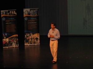 Wayne Firestone speaking at Hillel Institute 2011