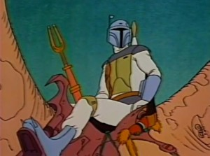 Boba Fett's introduction in the Star Wars Holiday Special