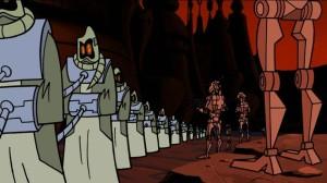 Droids taking captives