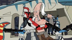 Ki-Adi-Mundi being held back from pursuing Grievous