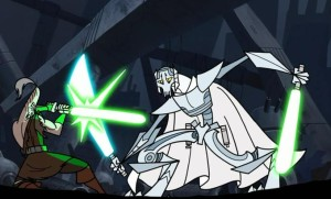 Ki-Adi-Mundi fighting General Grievous