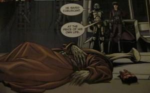Master Yarael Poof dying