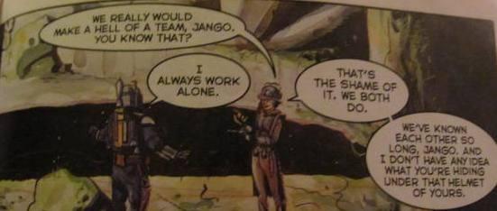 star wars jango fett comic book