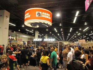 Dark Horse Comics was the busiest vendor at WonderCon