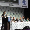 Nerdist panel watching Chris Hardwick speak