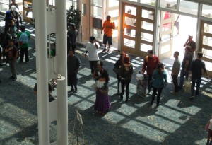 There was ample space in the promenade for cosplay