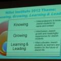 Hillel Institute 2012 Theme